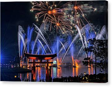 Illuminations 2 - Epcot Center At Disney World Orlando Florida Canvas Print