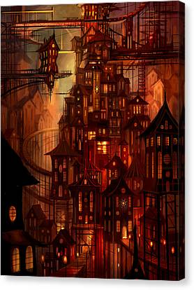 Illuminations Canvas Print by Philip Straub