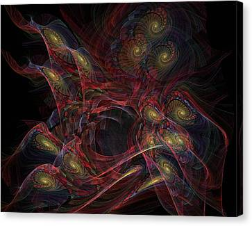 Illusion And Chance - Fractal Art Canvas Print by NirvanaBlues