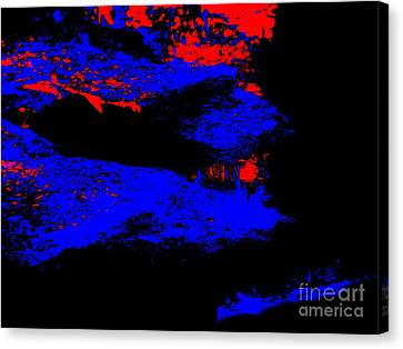 Illusional Abstract Canvas Print by Tim Townsend
