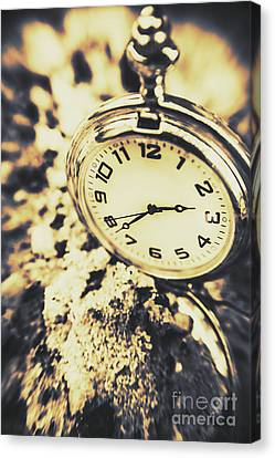 Illusive Time Canvas Print by Jorgo Photography - Wall Art Gallery
