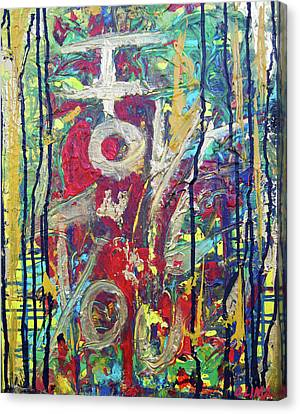 Iloveu Canvas Print by Ottoniel Lima