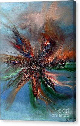 Canvas Print featuring the painting Ilusion  by Ayasha Loya