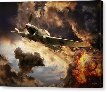 Ilyushin Il-2 Canvas Print by Anton Egorov