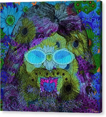 Im A Hippie Man Canvas Print