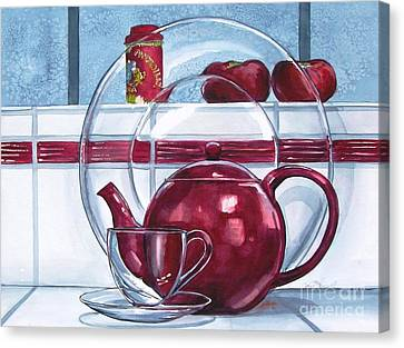 I'm A Little Teapot Canvas Print by Jane Loveall