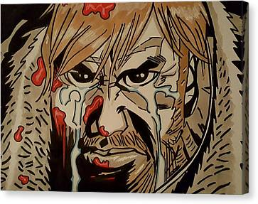 I'm Going To Kill You  Canvas Print by Oscar Rodriguez III