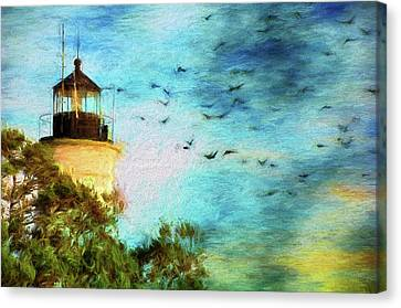 Canvas Print featuring the photograph I'm Here To Watch You Soar II by Jan Amiss Photography