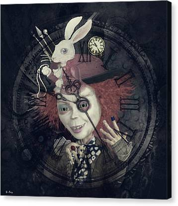 March Hare Canvas Print - I'm Late by G Berry