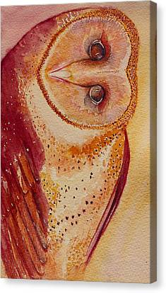 I'm Looking At You Canvas Print by Katie Lloyd