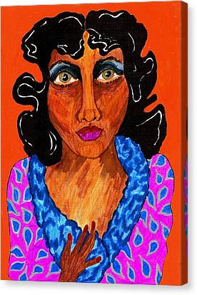 I'm Millie Canvas Print by Stacey Torres