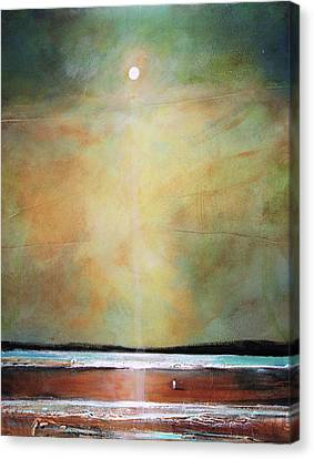 I'm Never Alone Canvas Print by Toni Grote