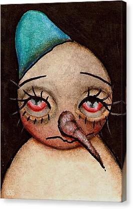 Im Sorry Canvas Print by  Abril Andrade Griffith