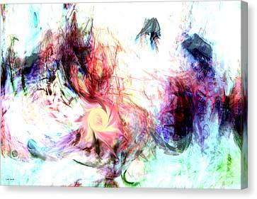Imagination Canvas Print by Linda Sannuti