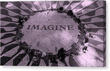 Imagine 2015 Pink Canvas Print by Rob Hans