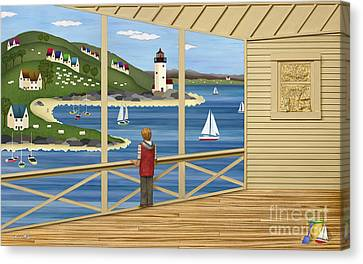 Cape Cod Canvas Print - Imagine by Anne Klar