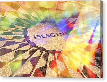 Imagine Colors Canvas Print