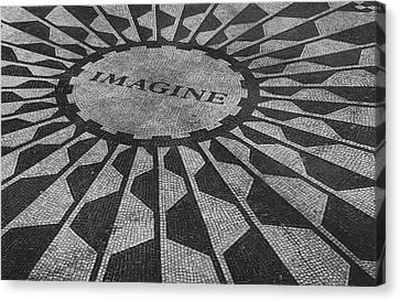 Imagine Canvas Print by Jerrett Dornbusch