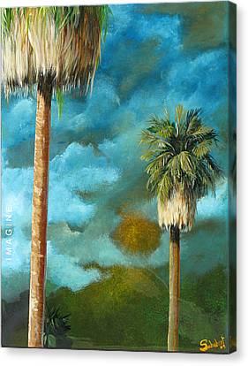 Imagine Canvas Print by Stephen Schubert
