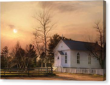 Immaculate Conception Church Canvas Print by Lori Deiter