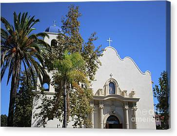 Immaculate Conception Church San Diego Canvas Print
