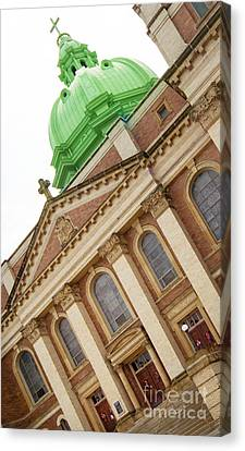 Immaculate Heart Of Mary Church Polish Hill Pittsburgh Pennsylvania Canvas Print by Amy Cicconi