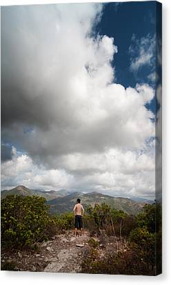 Canvas Print featuring the photograph Immensity by Laura Melis