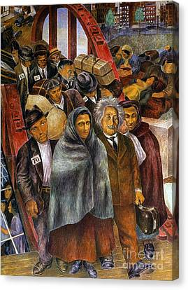 Immigrants, Nyc, 1937-38 Canvas Print by Granger