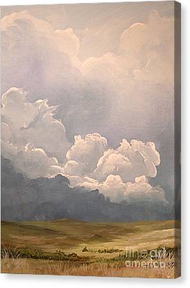 Imminent Tempest Canvas Print by John Wise