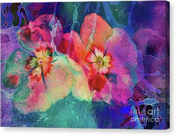 Impatiens Abstract Canvas Print