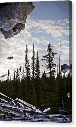 Impending Doom Canvas Print by Albert Seger
