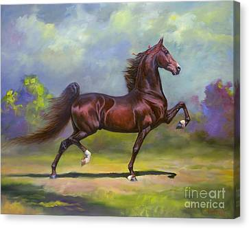 Imperator Canvas Print by Jeanne Newton Schoborg