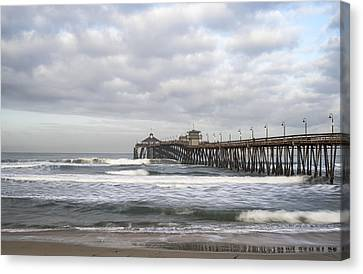 Imperial Beach Pier Canvas Print