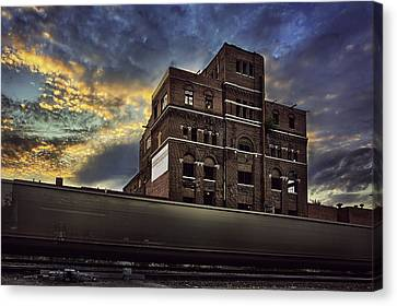 Imperial Brewery Canvas Print by Thomas Zimmerman