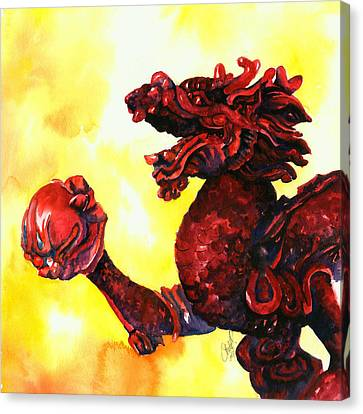 Imperial Dragon Canvas Print