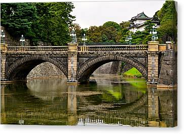 Imperial Garden Canvas Print by Corinne Rhode