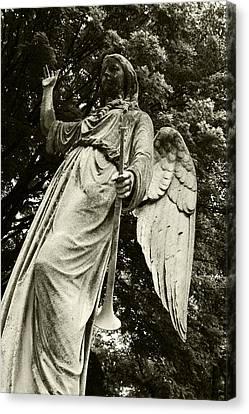 Imposing Angel Canvas Print by Brigid Nelson