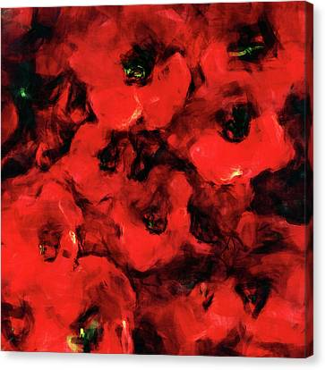 Impression Of Poppies Canvas Print