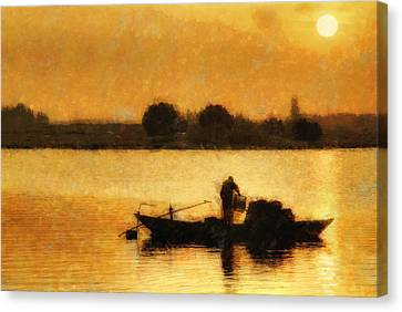 Impressionist Dawn Canvas Print by Cameron Wood