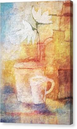 Impressionist Still Life Canvas Print