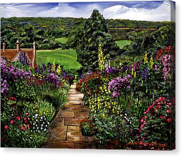 Impressions Of England Canvas Print by David Lloyd Glover