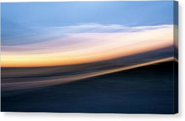 Impressions Of The Sea Canvas Print by Mary Lee Dereske