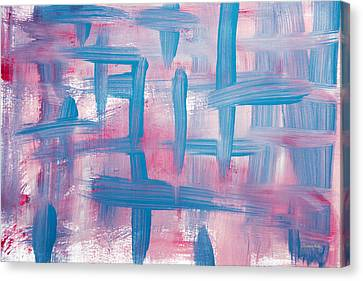 Impulse Abstract Painting Canvas Print