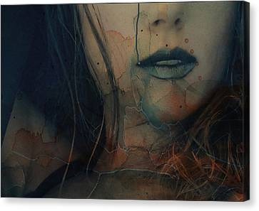 Canvas Print featuring the mixed media In A Broken Dream  by Paul Lovering
