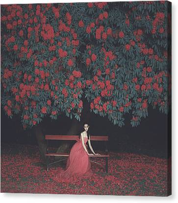 In A Garden Canvas Print by Anka Zhuravleva