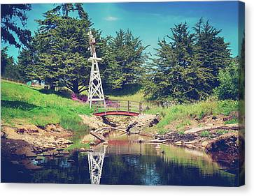 Cambria Canvas Print - In A Perfect World by Laurie Search
