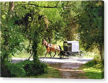 In Amish Country Canvas Print