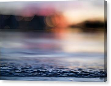 Canvas Print featuring the photograph In-between Days by Laura Fasulo