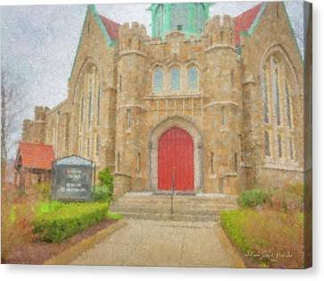 In Brockton For Good Canvas Print