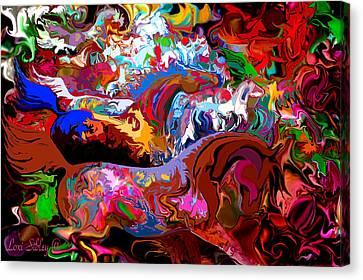 In Dreams Canvas Print by Loxi Sibley